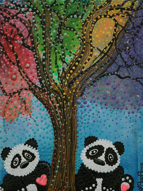 Art: The Panda Tree by Artist Laura Barbosa