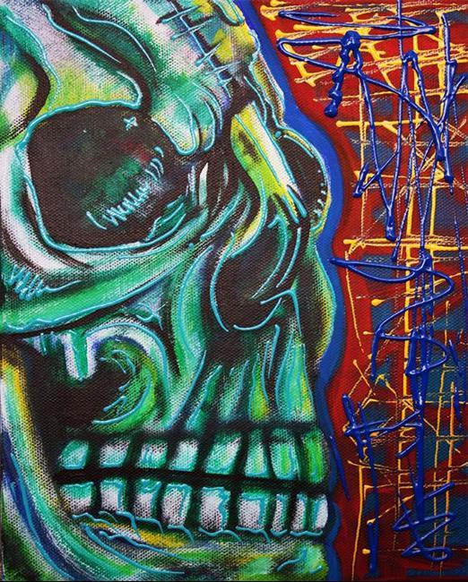 Art: Being Human by Artist Laura Barbosa