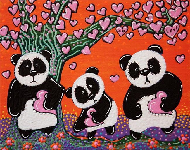 Art: Tree of Hearts by Artist Laura Barbosa