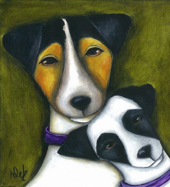 Art: Mom by Artist Deb Harvey