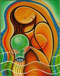 Art: AQUARIUS by Artist Javier Martinez