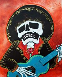 Art: Mariachi Musician by Artist Laura Barbosa