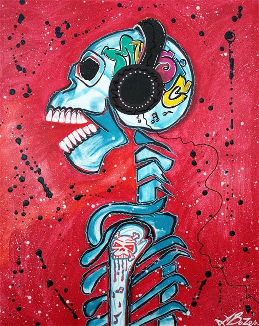 Art: Music is Art by Artist Laura Barbosa
