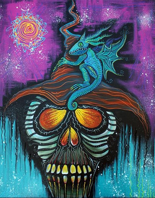 Art: Master of Dragons by Artist Laura Barbosa