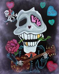 Art: Be Mine by Artist Laura Barbosa