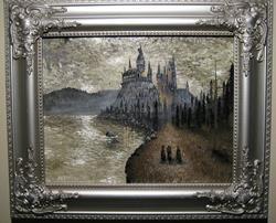 Art: Hogwarts: First Year by Artist J A Blackwell