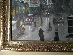 Detail Image for art New York Times Square: Christmas Eve 1920's