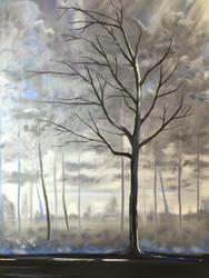 Art: Stands Alone by Artist Stacey R. Zimmerman