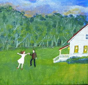 Detail Image for art For No Reason, They Began to Dance (Sold)