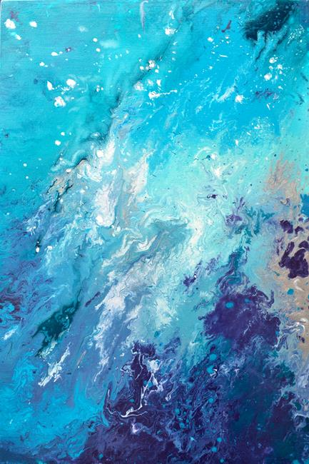 Art: Drift Away by Artist Louise Mead