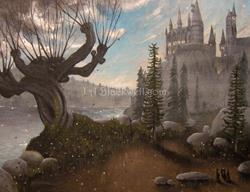 Art: HogWarts Second Year by Artist J A Blackwell
