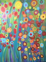 Art: Garden Dreams by Artist Stacey R. Zimmerman
