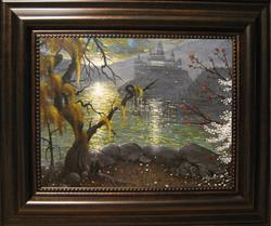 Art: Hogwarts: Fourth Year, October by Artist J A Blackwell