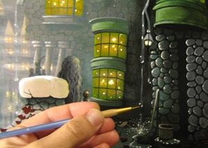 Detail Image for art Off To Ollivanders