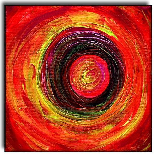 Art: Orbit 1 by Artist Amanda Hone