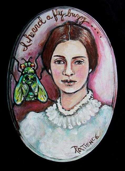 Art: I Heard a Fly Buzz....: Emily Dickinson Tribute by Artist Patience