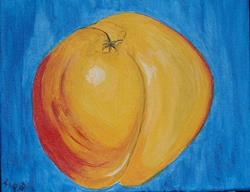 Art: The Naked Nectarine by Artist Kathleen A. Roberson