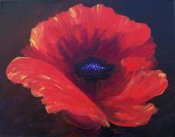 Art: Poppy by Artist Torrie Smiley