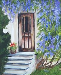 Art: Wisteria House by Artist Torrie Smiley