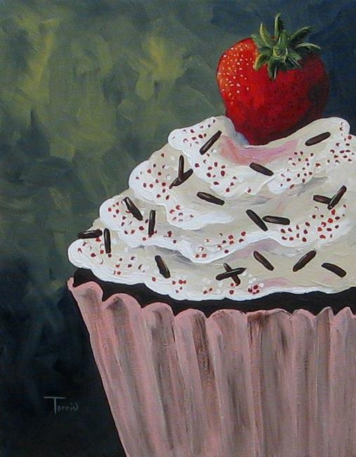 Art: Naquaiya's Cupcake by Artist Torrie Smiley