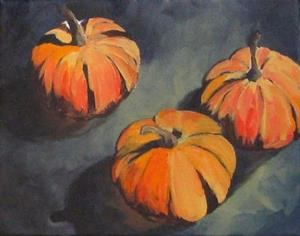 Detail Image for art The White Pumpkins