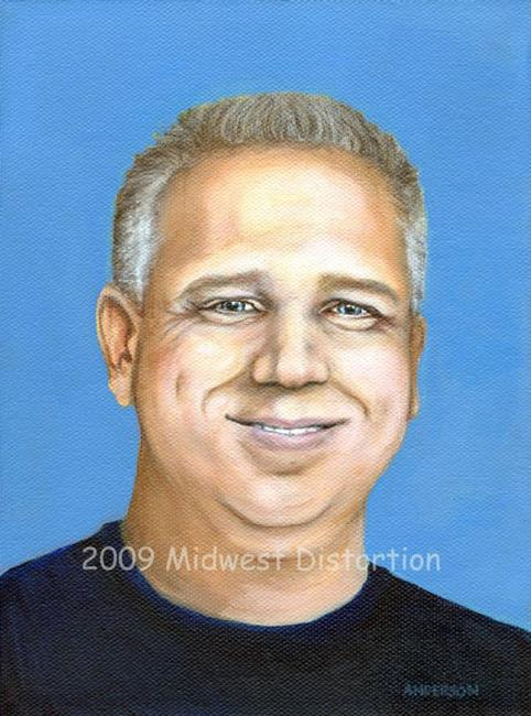 glenn beck by midwest distortion from political art gallery