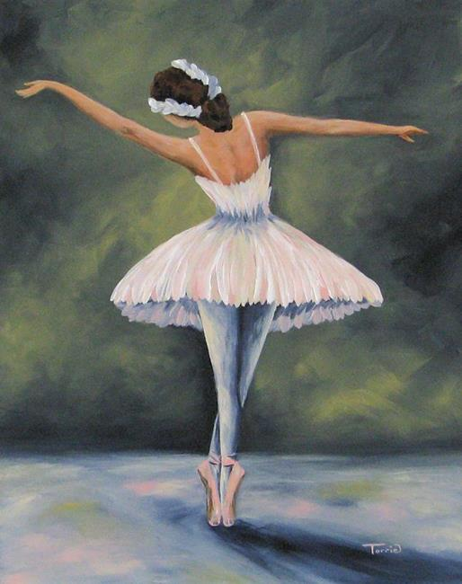 Art: The Ballerina IV by Artist Torrie Smiley