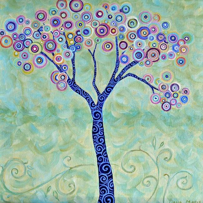Art: Suess' Thinking Tree ~ Sold by Artist Dana Marie