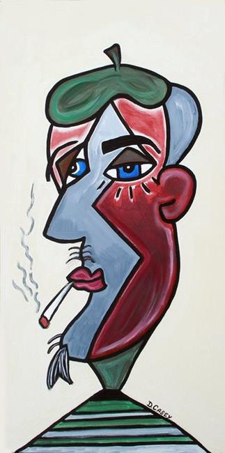Art: The Sophisticate by Artist Diane G. Casey