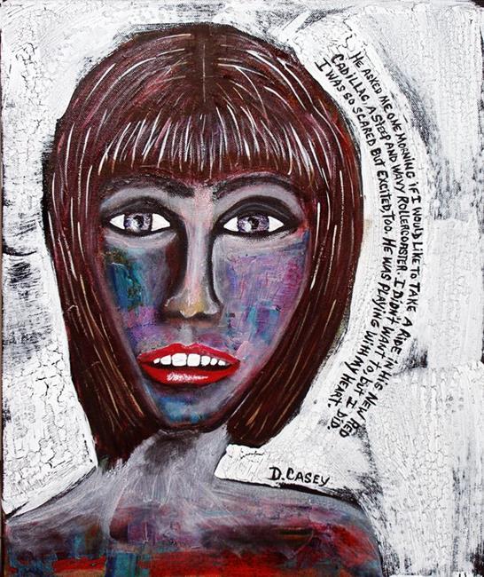 Art: He left me by Artist Diane G. Casey