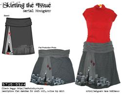 Art: Serial Monogamy: Skirt by Artist studio524
