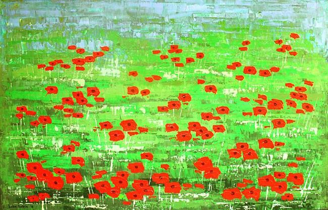 Art: Wildflowers (s) by Artist Luba Lubin