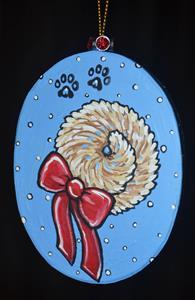 Detail Image for art Santa Pug 2017