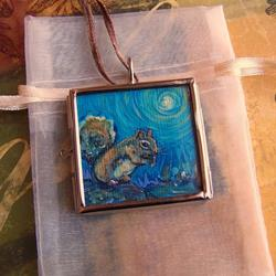 Art: My Sweet Friend and A Gift - Sold by Artist Dana Marie