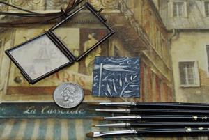 Detail Image for art Time Traveler - Original Dana Marie Wearable Art