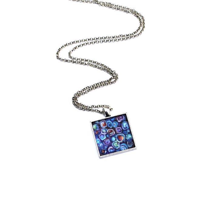 Art: River Song in Purple - Wearable Art - Sold by Artist Dana Marie
