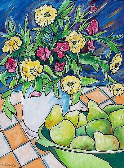 Art: Summer Gathering by Artist Melanie Douthit