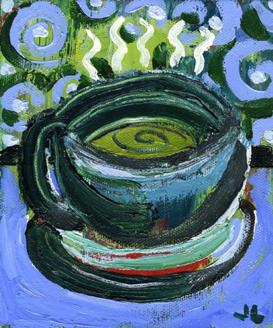Art: Coffee Cup #8 by Artist Jennifer Lommers