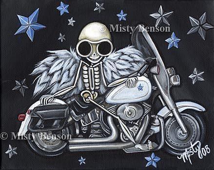 Art: Fatboy Skelly by Artist Misty Monster (Benson)