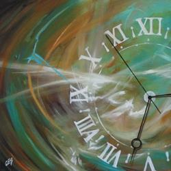 Art: Time by Artist Christine E. S. Code ~CES~