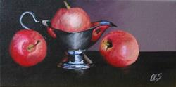 Art: Apple Sauce by Artist Christine E. S. Code ~CES~