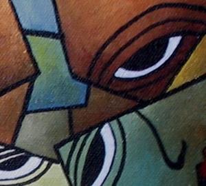 Detail Image for art Faces of Melancholy