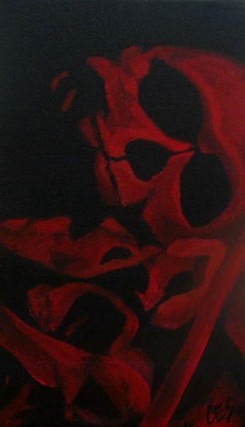 Art: Pile of Bones by Artist Christine E. S. Code ~CES~