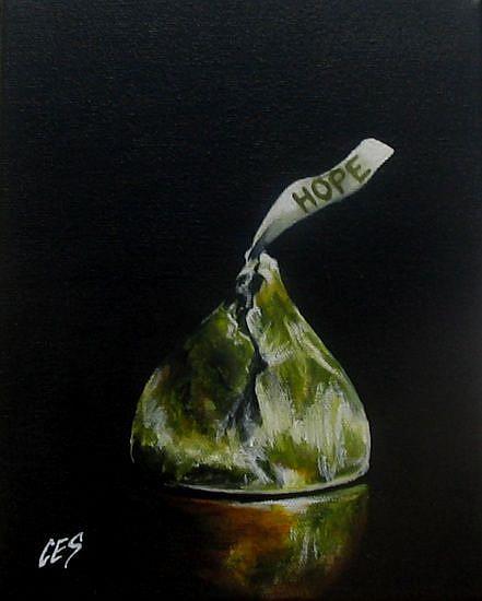 Art: Hope by Artist Christine E. S. Code ~CES~