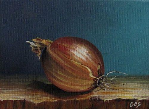 Art: Vidalia Onion by Artist Christine E. S. Code ~CES~