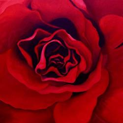 Art: Roses Are Red 2 by Artist Christine E. S. Code ~CES~