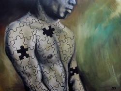 Art: Enigma by Artist Christine E. S. Code ~CES~