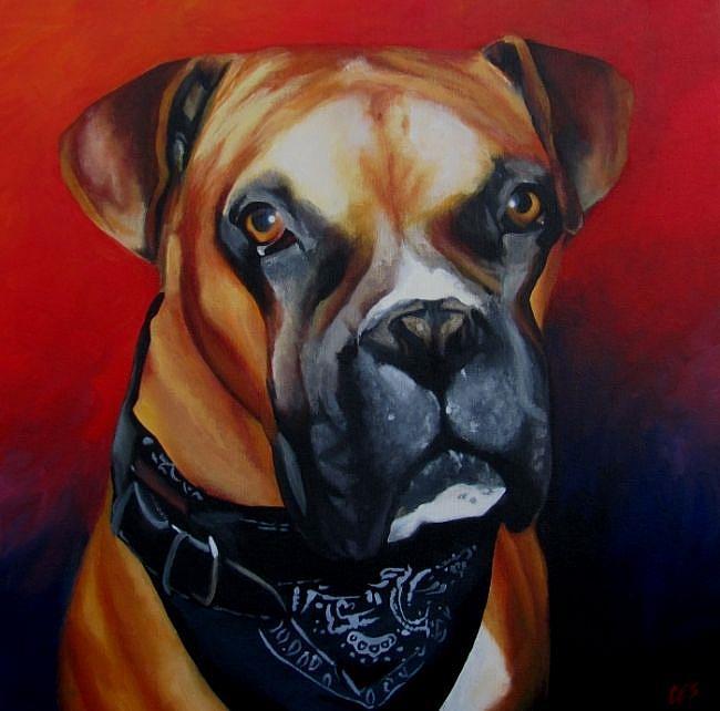 Art: Rocky by Artist Christine E. S. Code ~CES~