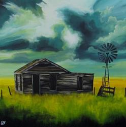 Art: Weathering Another Storm by Artist Christine E. S. Code ~CES~