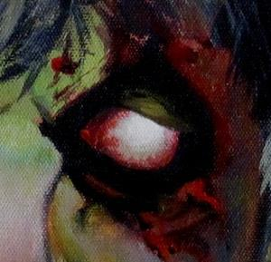 Detail Image for art Custom Zombie Portrait